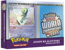 Pokemon 2008 World Championships Deck - Jason Klaczynski (Psychic Lock)