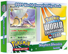 Pokemon 2009 World Championships Deck - Stephen Silvestro (Luxdrill)