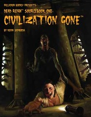 PAL231 Dead Reign Sourcebook One: Civilization Gone