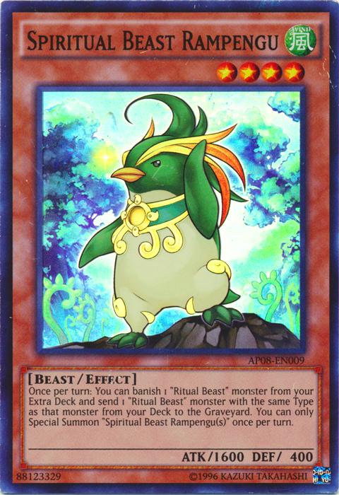 Spiritual Beast Rampengu - AP08-EN009 - Super Rare - Unlimited Edition