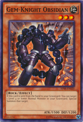 Gem-Knight Obsidian - AP08-EN020 - Common - Unlimited Edition