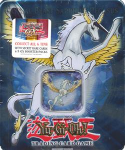 Crystal Beast Sapphire Pegasus 2007 Collectors Tin