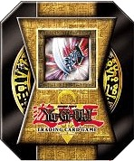 Yu-Gi-Oh 2004 Blade Knight Collectors Tin with 5 Packs and CTI EN002 Card