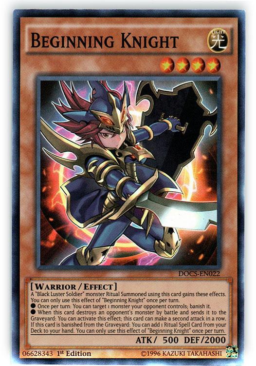 Beginning Knight - DOCS-EN022 - Super Rare - 1st Edition