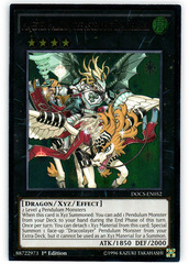 Majester Paladin, the Ascending Dracoslayer - DOCS-EN052 - Ultimate Rare