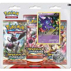 XY BREAKThrough Collector's Pin 3-Pack Blister - Sableye
