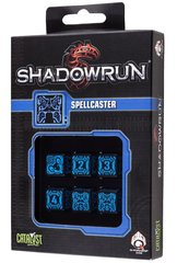 Shadowrun Spellcaster Dice Set (6)