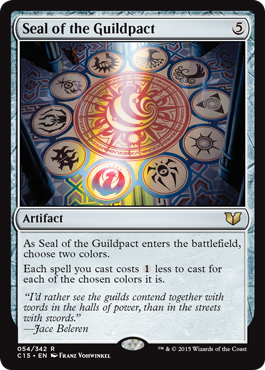 Seal of the Guildpact - Magic Singles » Special Editions