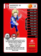 Android 18 - Effective S28 - Foil
