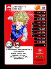 Android 18 - Determined S29 - Foil