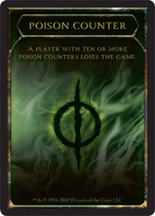 Poison Counter Token (10)