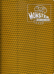 Monster Protectors 9 Pocket Holo Gold Binder