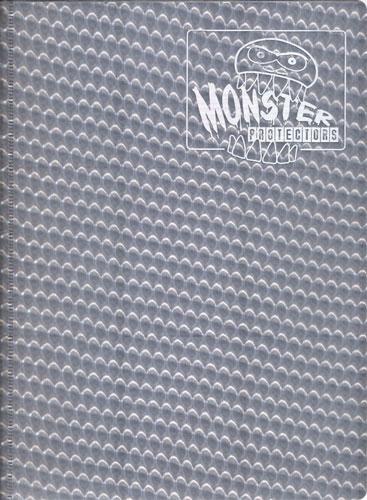 Monster Protectors 9 Pocket Holo Silver Binder
