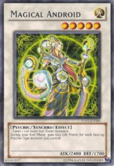 Magical Android - TU03-EN009 - Rare - Unlimited Edition