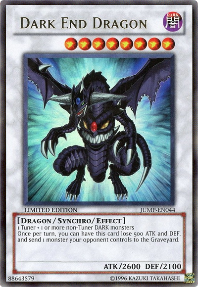 Dark End Dragon - JUMP-EN044 - Ultra Rare - Promo Edition