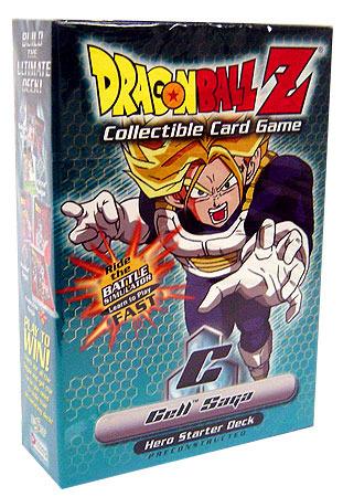 Cell Saga Hero Starter Deck Panini Dragon Ball Z