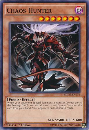 Chaos Hunter - SDMP-EN014 - Common - 1st Edition