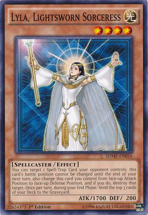 Lyla, Lightsworn Sorceress - SDMP-EN016 - Common - 1st Edition