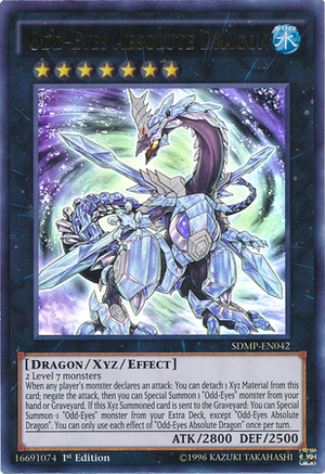 Odd-Eyes Absolute Dragon - SDMP-EN042 - Ultra Rare - 1st Edition