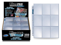9-Pocket Page 250ct - 84126 - Ultra Pro 25th Anniversary