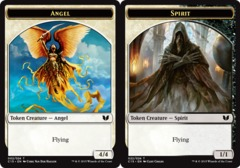 Angel Token // Spirit Token on Channel Fireball