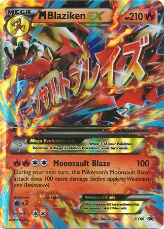 Mega-Blaziken EX - XY86 - Mega Blaziken-EX Premium Collection