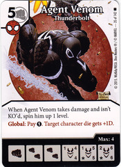 Agent Venom - Thunderbolt (Card Only)