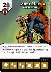 Aunt May - Caring Aunt (Die & Card Combo)