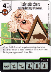Black Cat - Probability Control (Die & Card Combo)