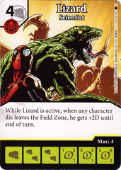 Lizard - Scientist (Die & Card Combo)