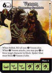 Venom - Staggering Symbiote (Die & Card Combo)