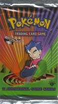 Pokemon Gym Challenge Booster Pack - 1st Edition