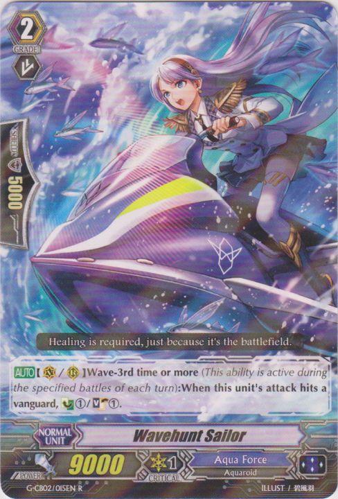 Wave Hunt Sailor - G-CB02/015EN - R