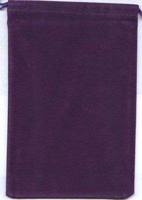 Chessex Velour Dice Bag Small Purple 4x6
