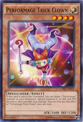 Performage Trick Clown - CORE-EN018 - Common - Unlimited Edition
