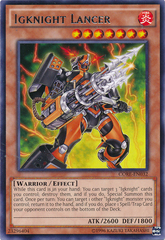 Igknight Lancer - CORE-EN032 - Rare - Unlimited Edition