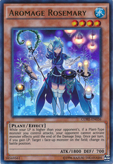 Aromage Rosemary - CORE-EN036 - Ultra Rare - Unlimited Edition on Channel Fireball