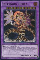 Infernoid Tierra - CORE-EN049 - Ultimate Rare - Unlimited Edition