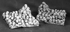 40mm Square Skull Bases (2)