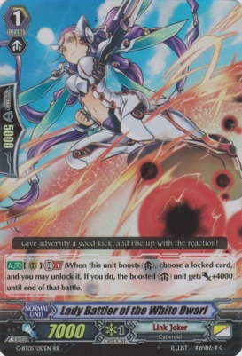 Lady Battler of the White Dwarf - G-BT05/017EN - RR