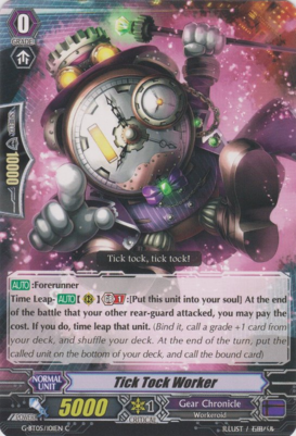 Tick Tock Worker - G-BT05/101EN - C
