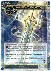 Excalibur, the God's Sword - TTW-097 - R - 1st Edition