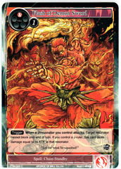 Flash of Demon Sword - TTW-026 - C - 1st Edition (Foil)