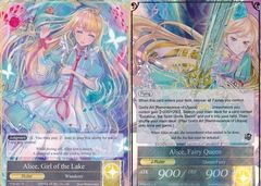 Alice, Girl of the Lake // Alice, Fairy Queen - TTW-001 // TTW-001J - R - 1st Edition (Foil)