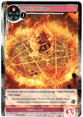 Barrier of Flame - TTW-019 - R - 1st Edition (Foil) on Channel Fireball