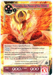 Phoenix, the Flame of the World - TTW-031 - SR - 1st Edition (Foil)