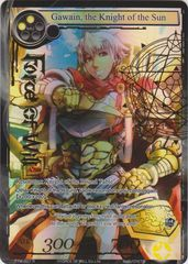 Gawain, the Knight of the Sun - TTW-007 - R - 1st Edition - Full Art