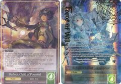 Reflect, Child of Potential // Refrain, Child of Convergence - TTW-063 // TTW-063J - R - 1st Edition - Full Art