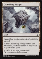 Crumbling Vestige - Foil