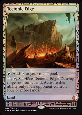 Tectonic Edge - Foil